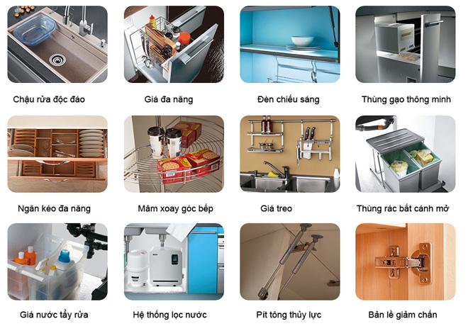 thiết kế thi công tủ bếp hcm
