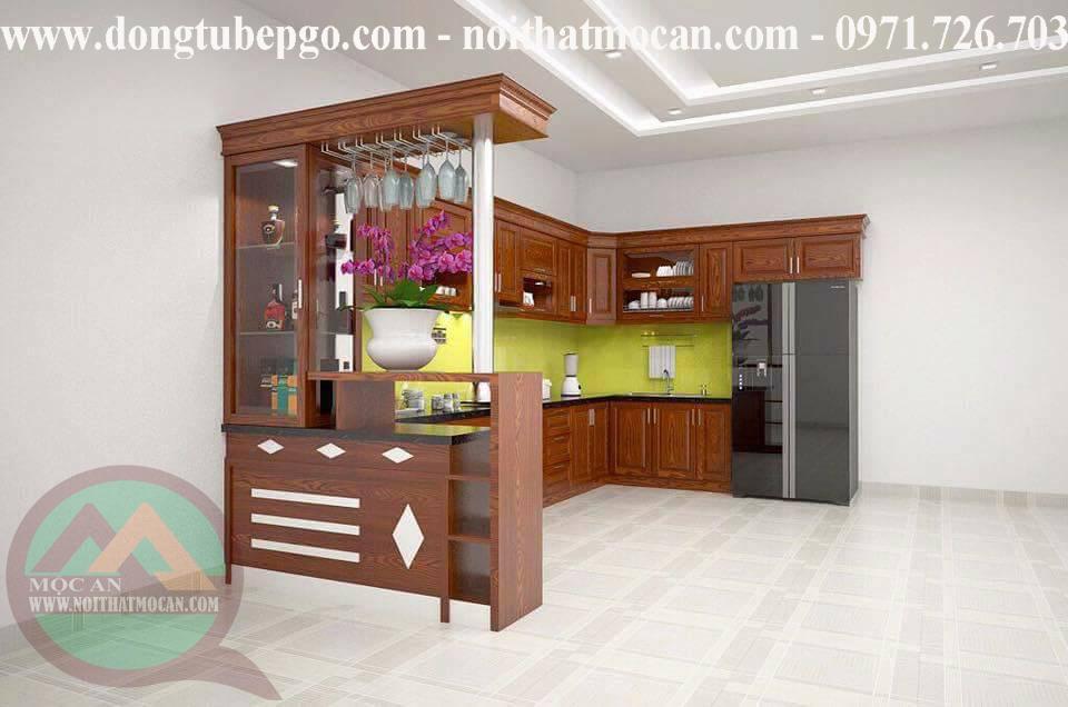 đóng tủ bếp ở đồng nai chất lượng tốt tại Mộc An