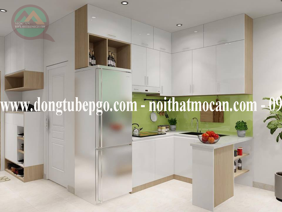Những mẫu tủ bếp theo phong cách hiện đại