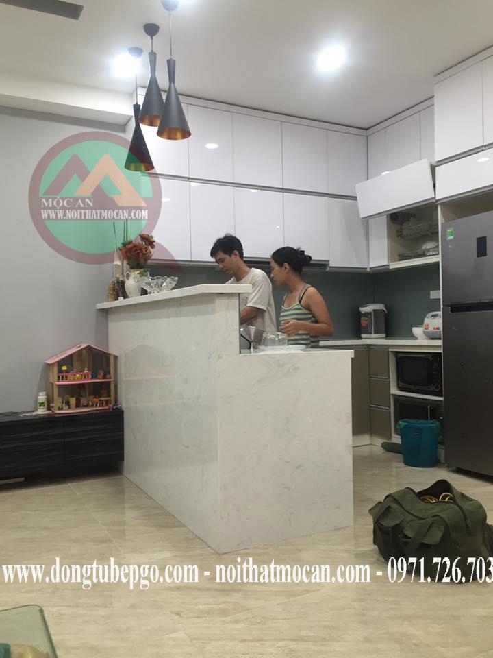 Tủ bếp ở Thủ Đức, dong tu bep o thu duc