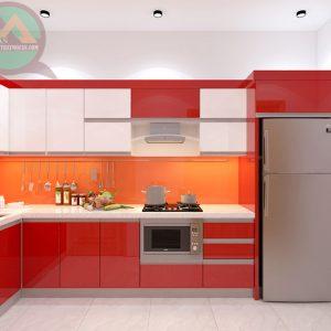 Tủ bếp Acrylic MA-02