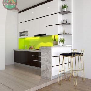 Tủ bếp Acrylic MA-07