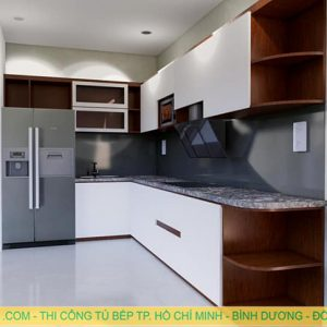 Tủ bếp Acrylic MA-01