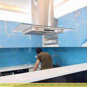 Tủ bếp Acrylic MA-06