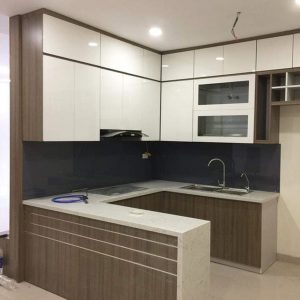 Tủ bếp Acrylic MA-11
