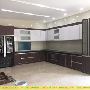 Tủ bếp Acrylic MA-04