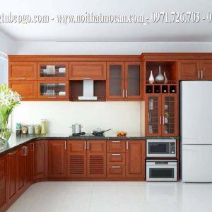 Tủ bếp căm xe tự nhiên MAC 3