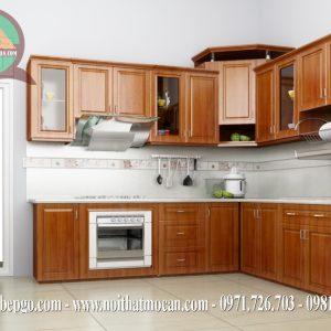 Tủ bếp căm xe tự nhiên MAC 8