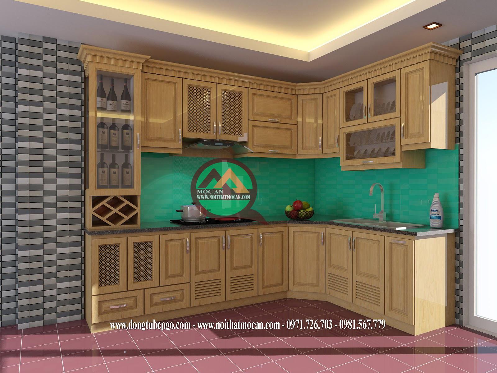 đóng tủ bếp chuyên nghiệp