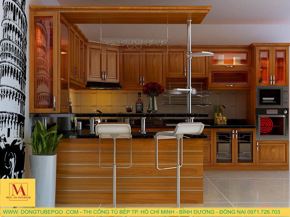 Địa chỉ thiết kế tủ bếp đẹp tại tp Hồ Chí Minh.
