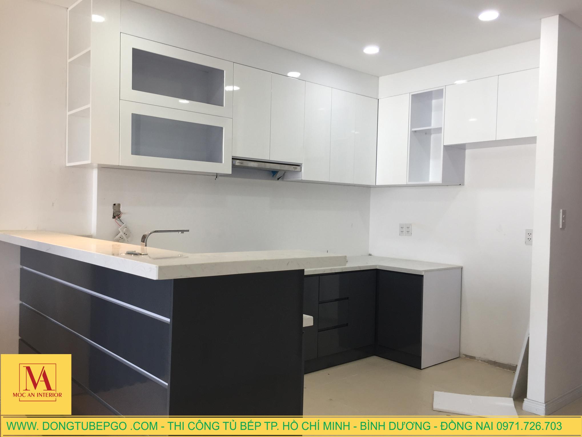 xưởng thi công đồ nội thất, tủ bếp chuyên nghiệp ở Tp.HCM