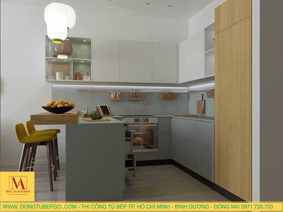 Đóng tủ bếp tại quận Bình Thạnh