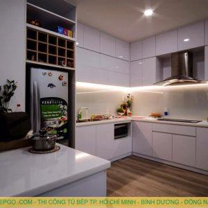 Địa chỉ nhận đóng tủ bếp acrylic uy tín tại Huyện Nhà Bè