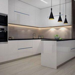 Đơn vị thi công tủ bếp gỗ acrylic cao cấp tại bình chánh