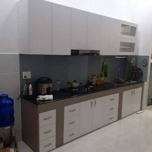 Tủ bếp gỗ công nghiêp MAC 102