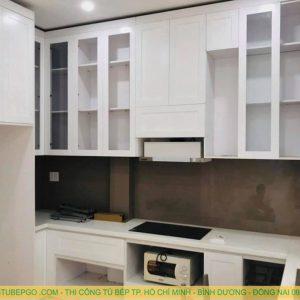 Tủ bếp tân cổ điển tại quận 10 MAA-10002