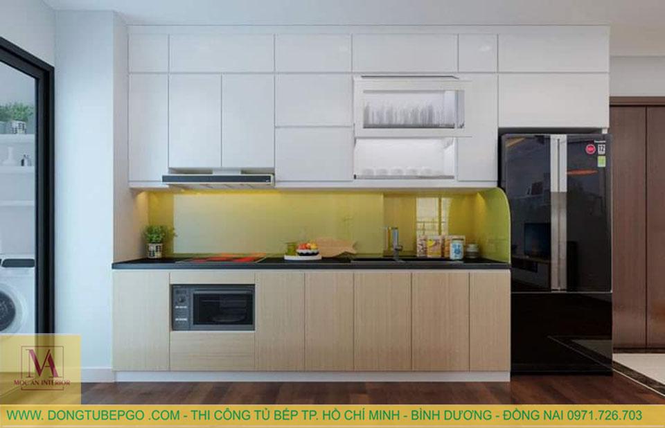 thiết kế và thi công tủ bếp gỗ trọn gói tại hcm